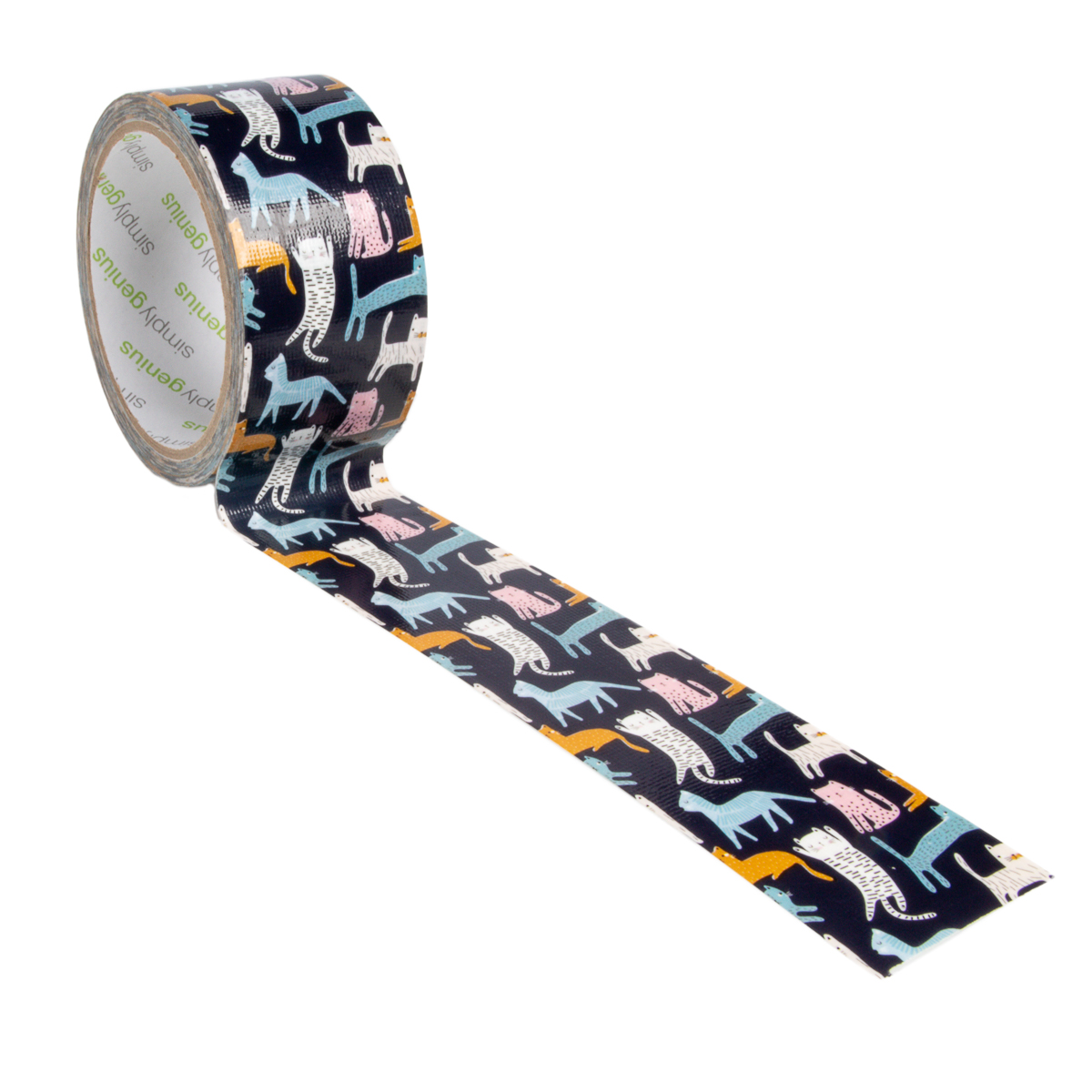 Simply-Genius-Duct-Tape-Roll-Colors-Patterns-Craft-Supplies-Colored-amp-Patterned thumbnail 32