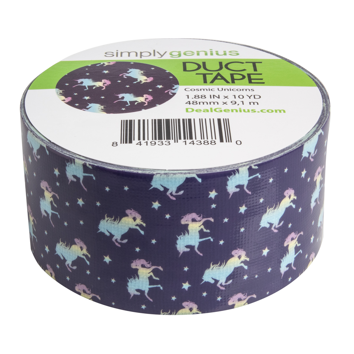 Simply-Genius-Duct-Tape-Roll-Colors-Patterns-Craft-Supplies-Colored-amp-Patterned thumbnail 39