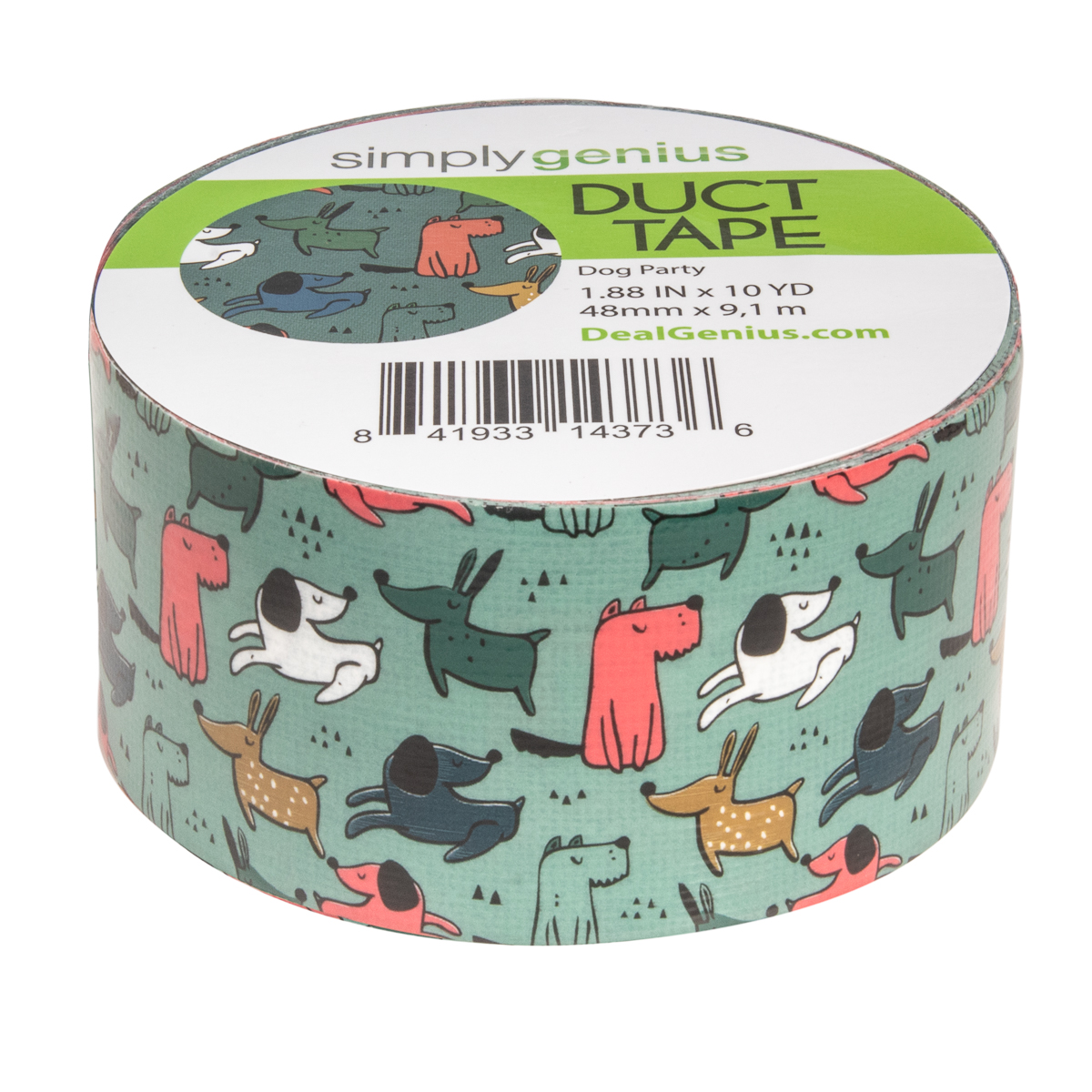 Simply-Genius-Duct-Tape-Roll-Colors-Patterns-Craft-Supplies-Colored-amp-Patterned thumbnail 48
