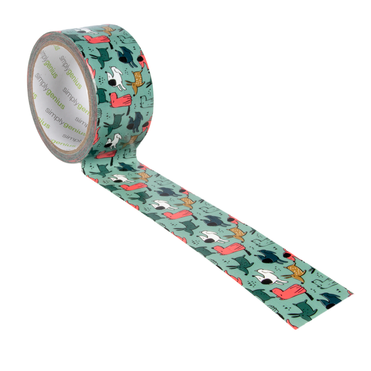 Simply-Genius-Duct-Tape-Roll-Colors-Patterns-Craft-Supplies-Colored-amp-Patterned thumbnail 49