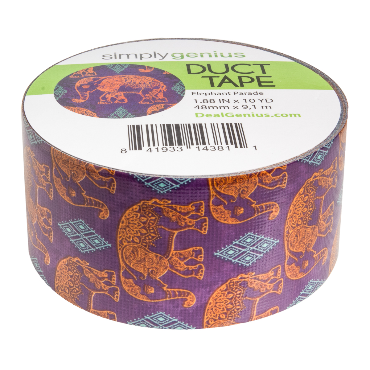 Simply-Genius-Duct-Tape-Roll-Colors-Patterns-Craft-Supplies-Colored-amp-Patterned thumbnail 52