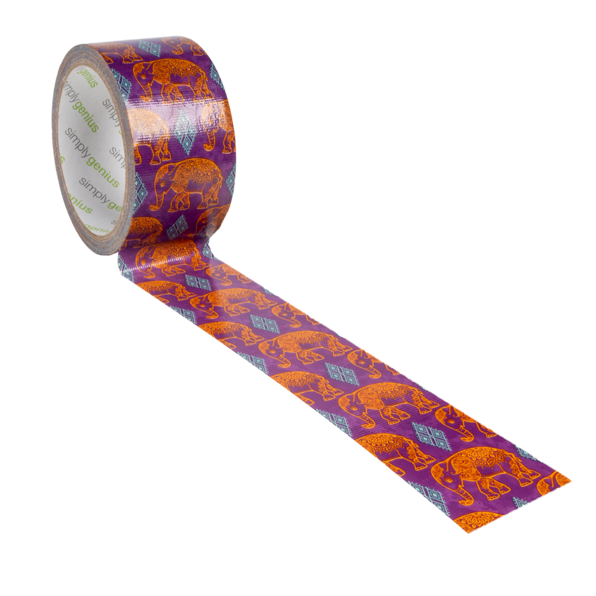 Simply-Genius-Duct-Tape-Roll-Colors-Patterns-Craft-Supplies-Colored-amp-Patterned thumbnail 53
