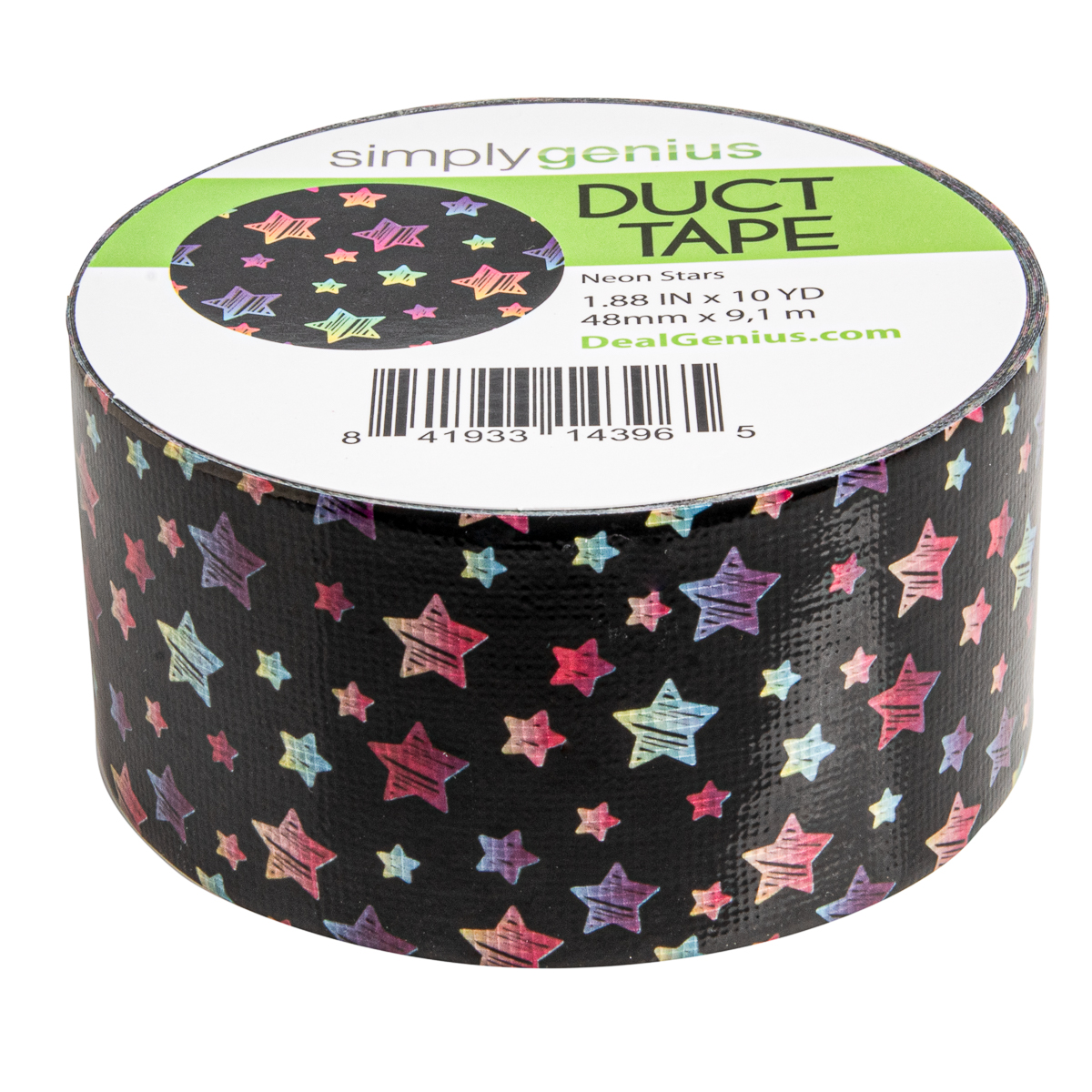 Simply-Genius-Duct-Tape-Roll-Colors-Patterns-Craft-Supplies-Colored-amp-Patterned thumbnail 92
