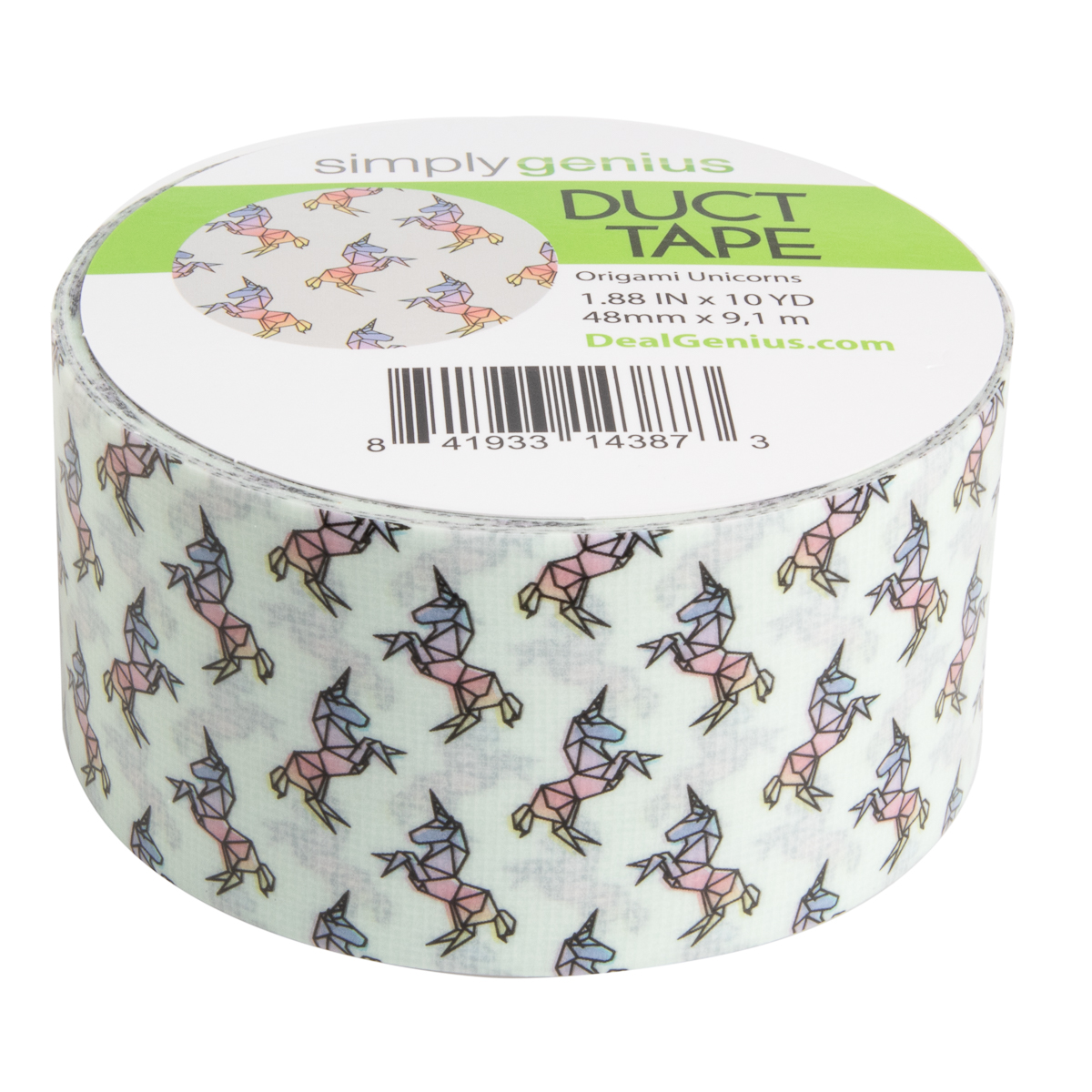 Duct Tape Wallet WHITE WITH COLORED BUTTERFLIES ALL OVER IT Handmade