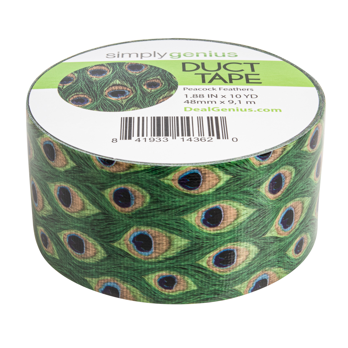 Simply-Genius-Duct-Tape-Roll-Colors-Patterns-Craft-Supplies-Colored-amp-Patterned thumbnail 125