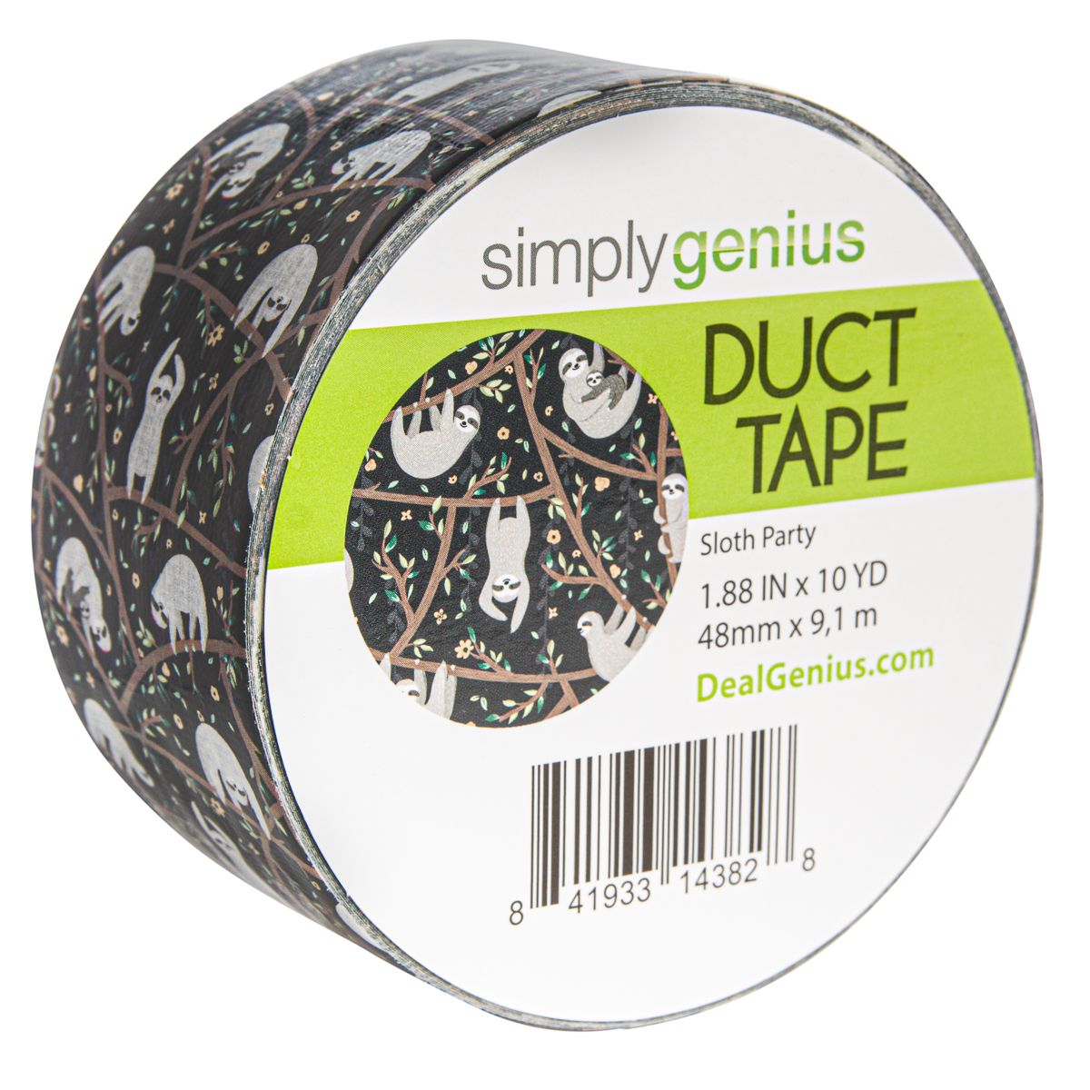 Simply-Genius-Duct-Tape-Roll-Colors-Patterns-Craft-Supplies-Colored-amp-Patterned thumbnail 147