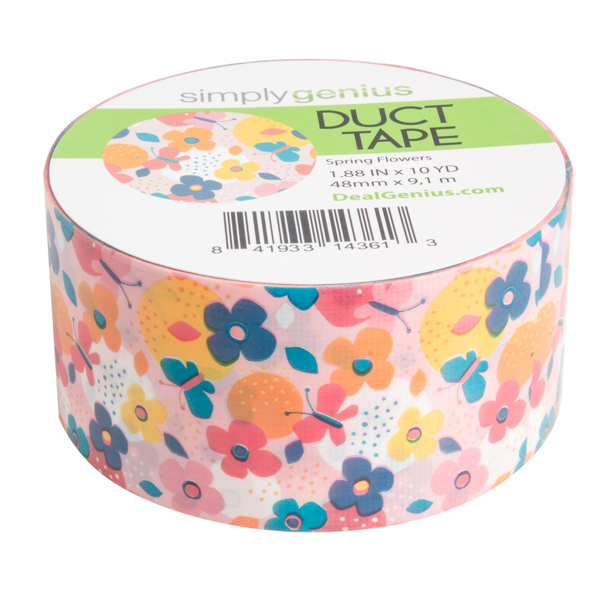 Simply-Genius-Duct-Tape-Roll-Colors-Patterns-Craft-Supplies-Colored-amp-Patterned thumbnail 205