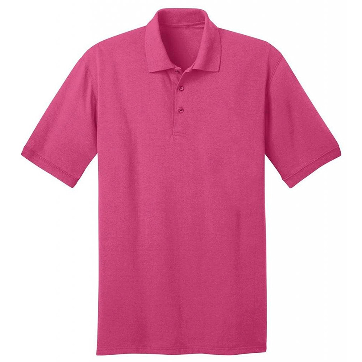 Port & Company Men's Polo T Shirts Short Sleeve Cotton Casual Golf ...
