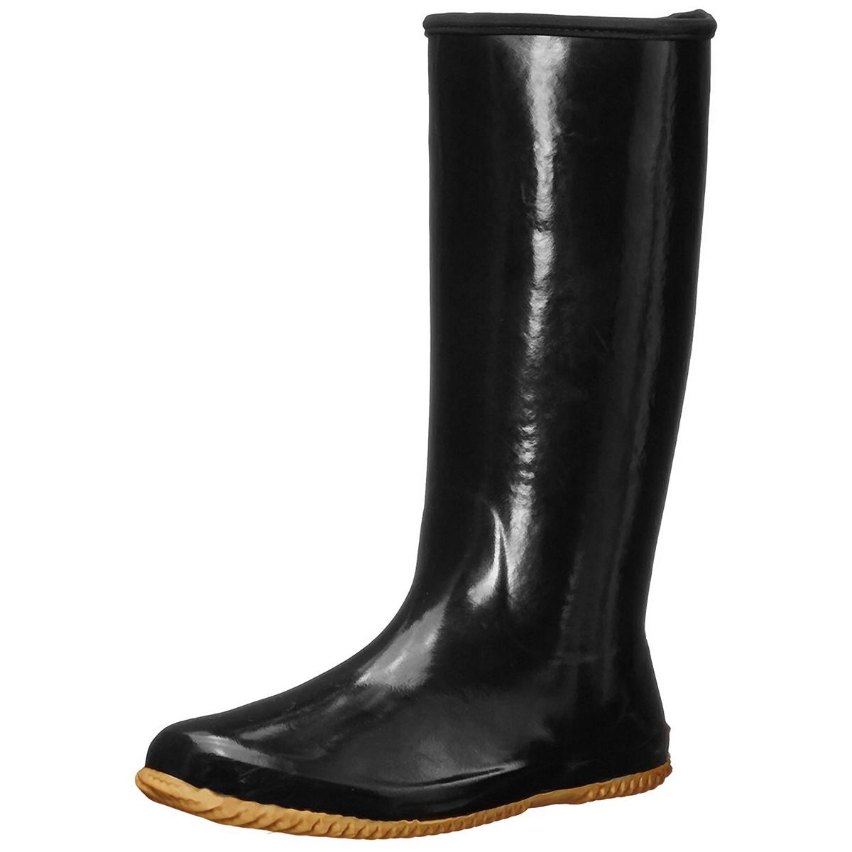 Chooka-Women-039-s-Rubber-Rain-Boots-Mid-Calf-With-Lightweight-Packable-Travel-Bag thumbnail 10