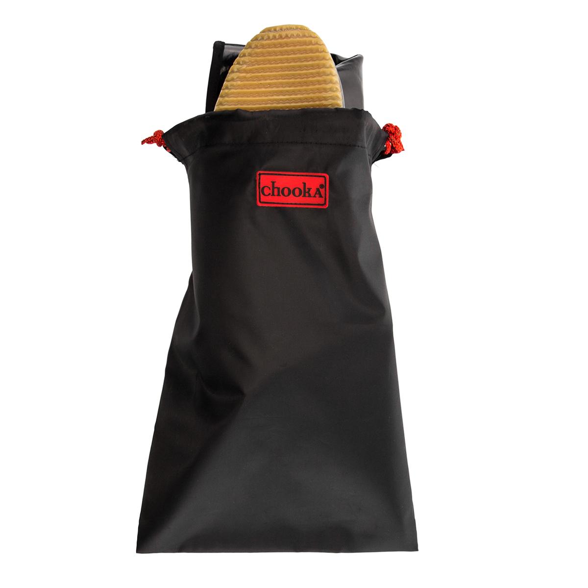 Chooka-Women-039-s-Rubber-Rain-Boots-Mid-Calf-With-Lightweight-Packable-Travel-Bag thumbnail 15