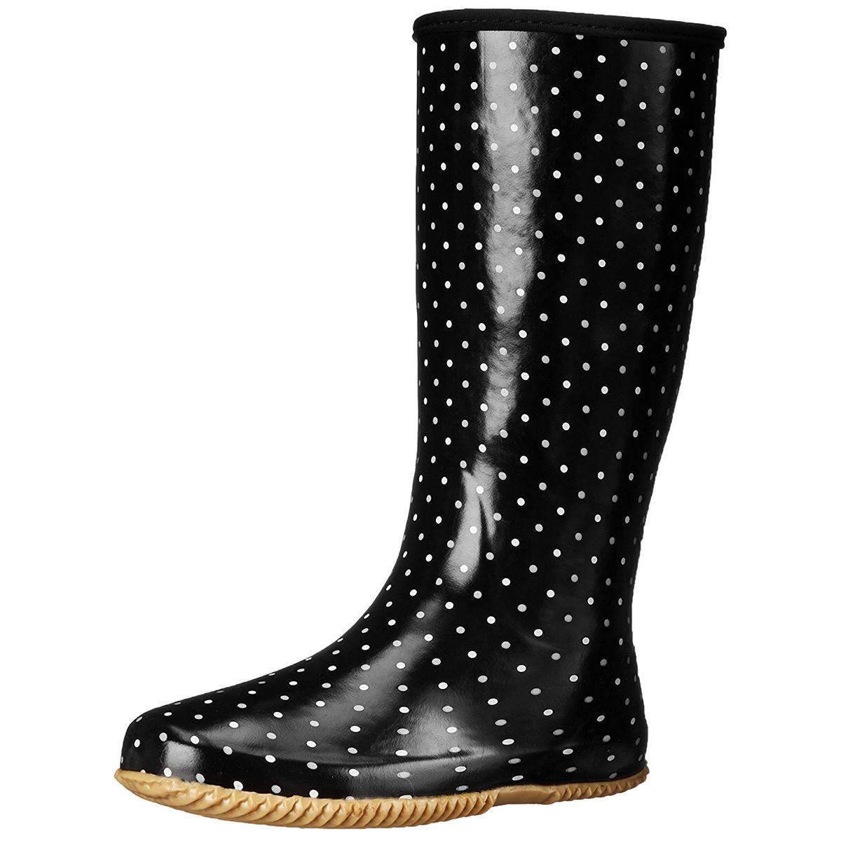 Chooka-Women-039-s-Rubber-Rain-Boots-Mid-Calf-With-Lightweight-Packable-Travel-Bag thumbnail 17