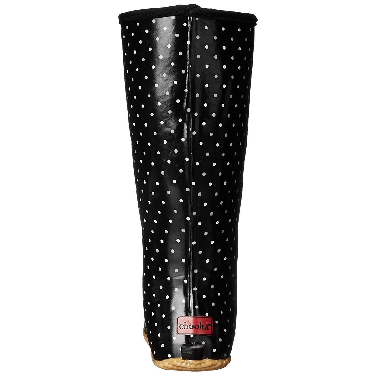 Chooka-Women-039-s-Rubber-Rain-Boots-Mid-Calf-With-Lightweight-Packable-Travel-Bag thumbnail 18