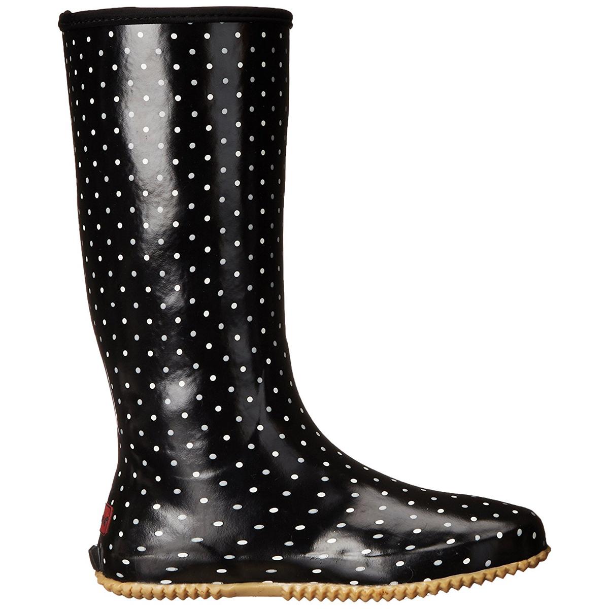 Chooka-Women-039-s-Rubber-Rain-Boots-Mid-Calf-With-Lightweight-Packable-Travel-Bag thumbnail 19