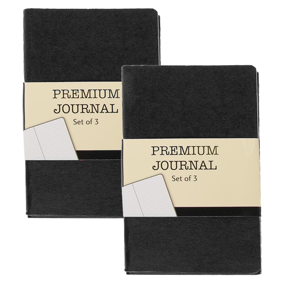 6 Pack Mini Journal Pocket Notebook Set 3 5 X 5 5