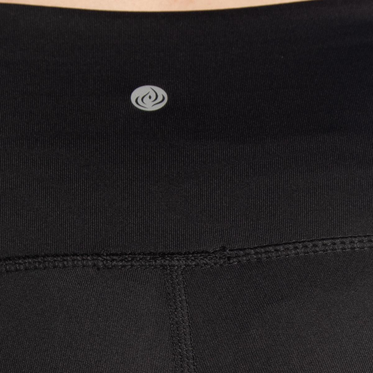 7-8-Length-High-Waist-Moisture-Wicking-UPF-50-Leggings-Run-Gym-Yoga-Pants-Mesh thumbnail 7