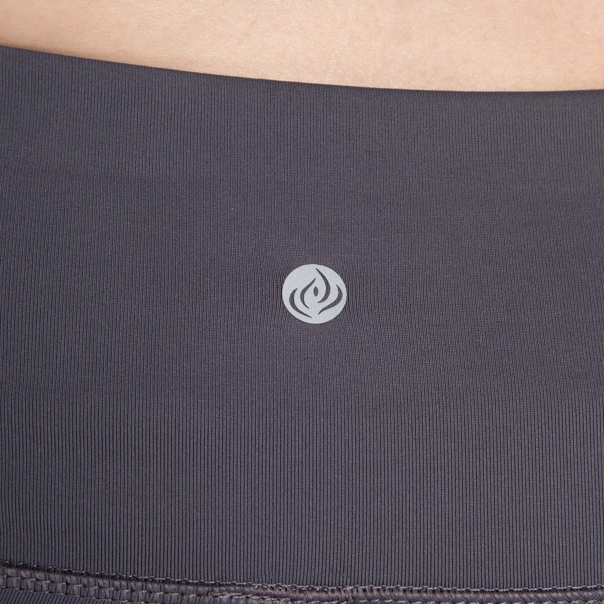 7-8-Length-High-Waist-Moisture-Wicking-UPF-50-Leggings-Run-Gym-Yoga-Pants-Mesh thumbnail 13