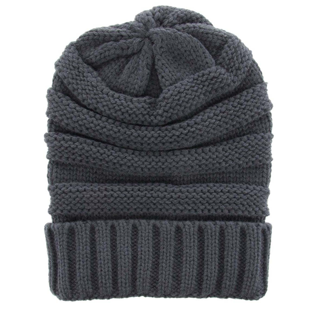 Womens-Slouchy-Ribbed-Knit-Chunky-Beanie-Winter-Hat-Warm-Cute-Lightweight-Chic thumbnail 30