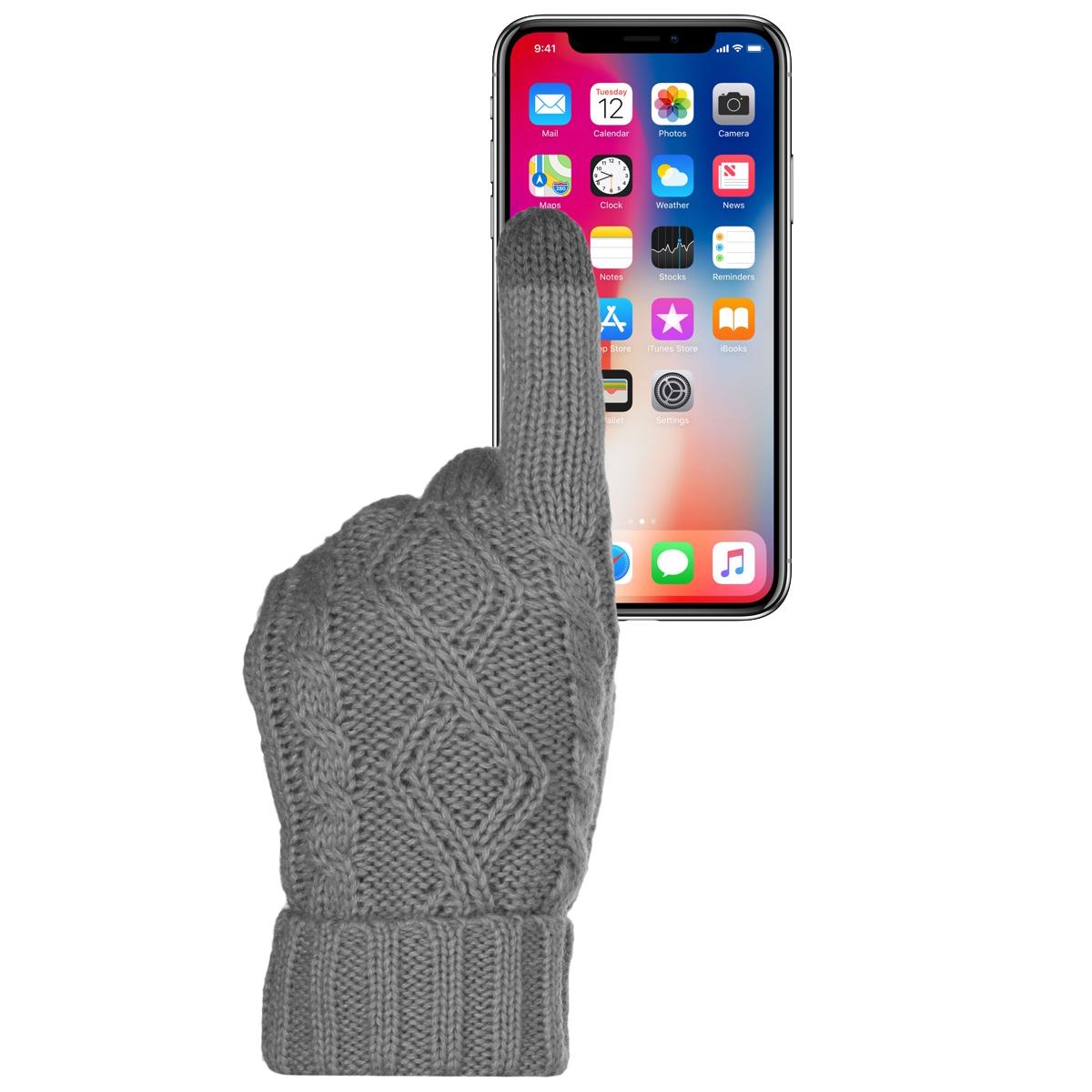 Warm-Cute-Texting-Gloves-Touch-Screen-Gloves-Knit-Gloves-Winter-Gloves-For-Women Indexbild 13