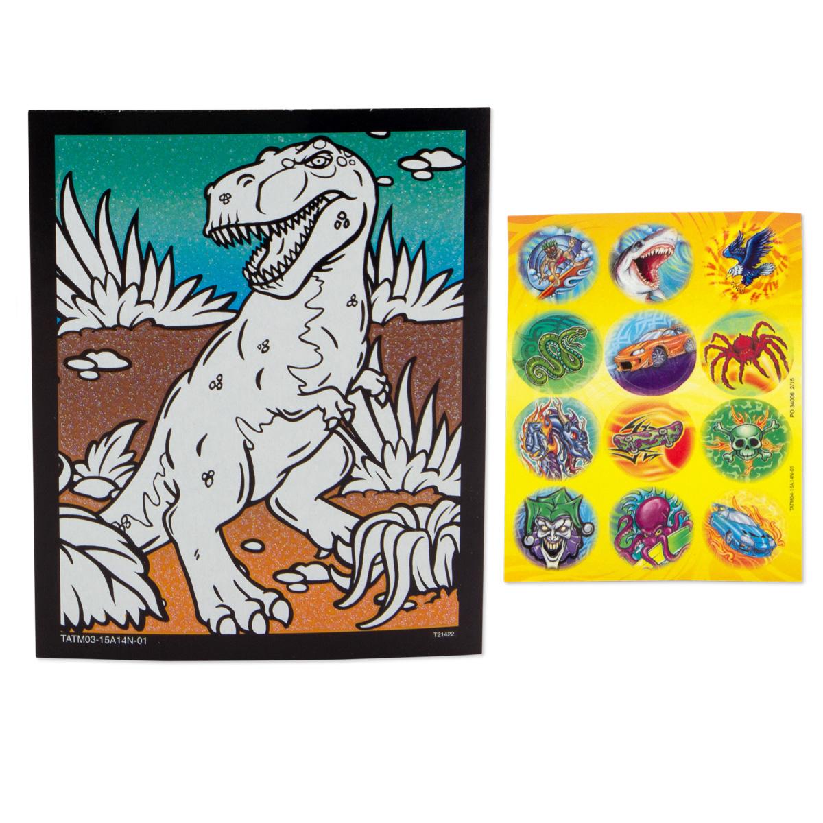 Savvi-Kids-Activity-Kit-Markers-Tattoos-Stickers-amp-More thumbnail 11