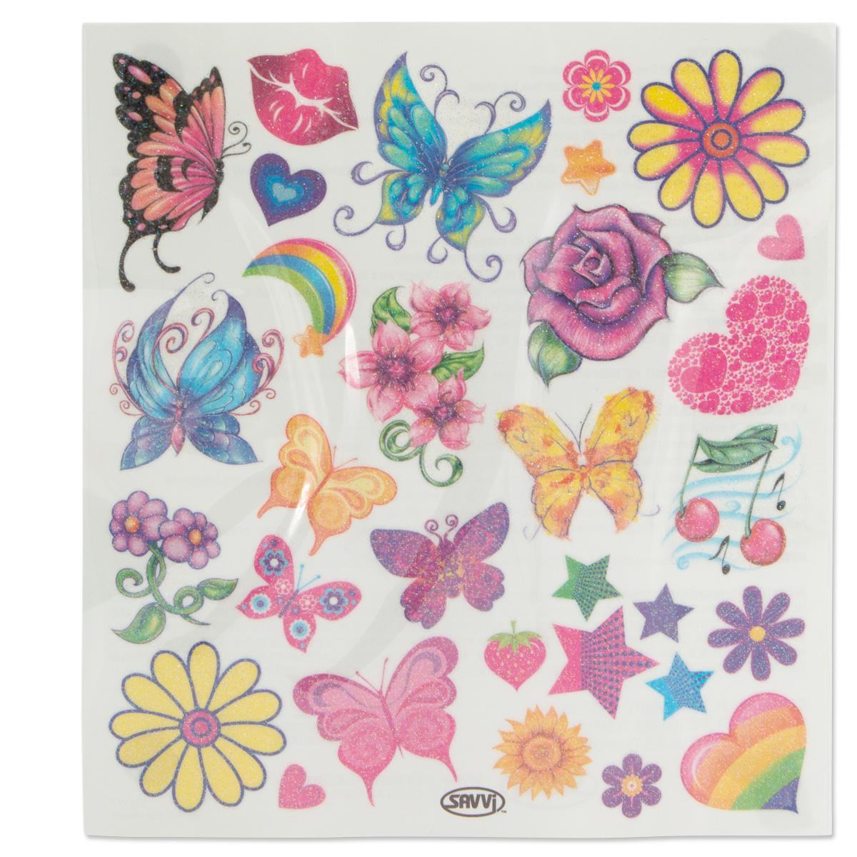 Savvi-Kids-Activity-Kit-Markers-Tattoos-Stickers-amp-More thumbnail 4