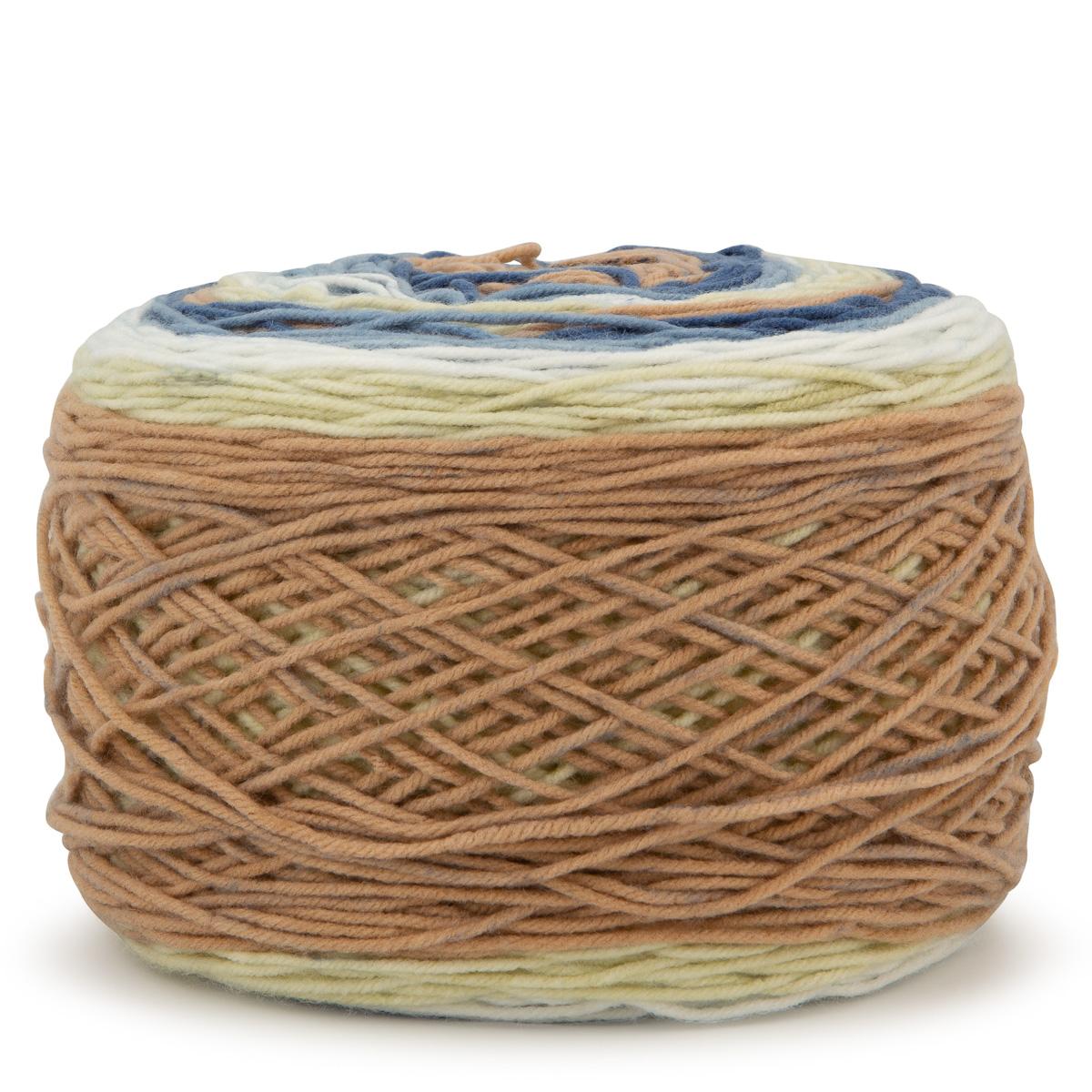 Caron-Big-Cakes-100-Acrylic-Worsted-Striping-Yarn-Medium-4-Cake-Knit-Crochet thumbnail 9