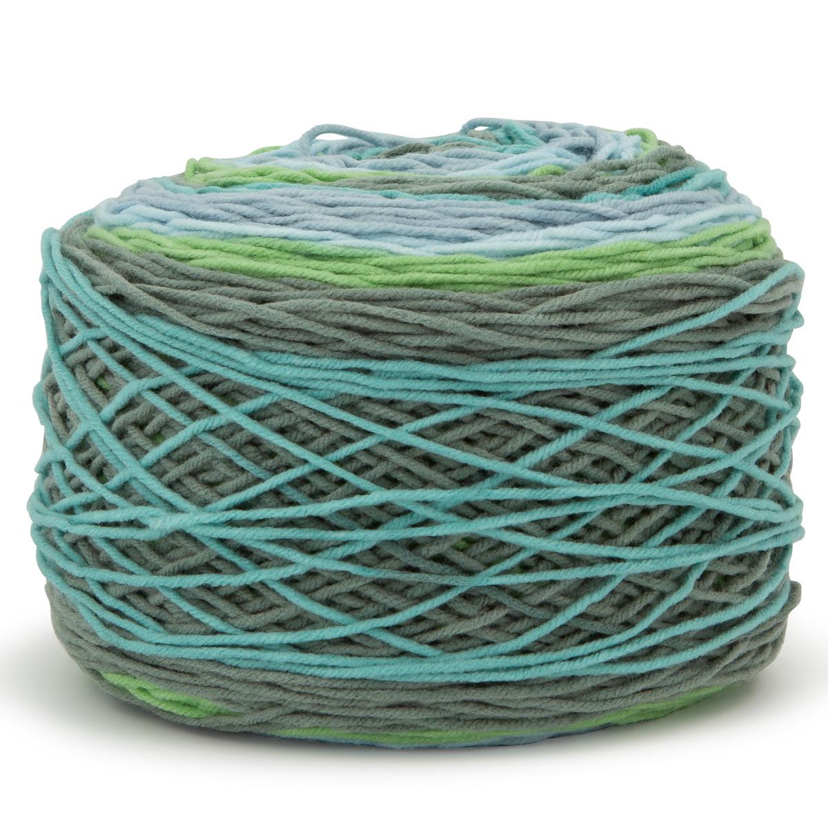 Caron-Big-Cakes-100-Acrylic-Worsted-Striping-Yarn-Medium-4-Cake-Knit-Crochet thumbnail 5