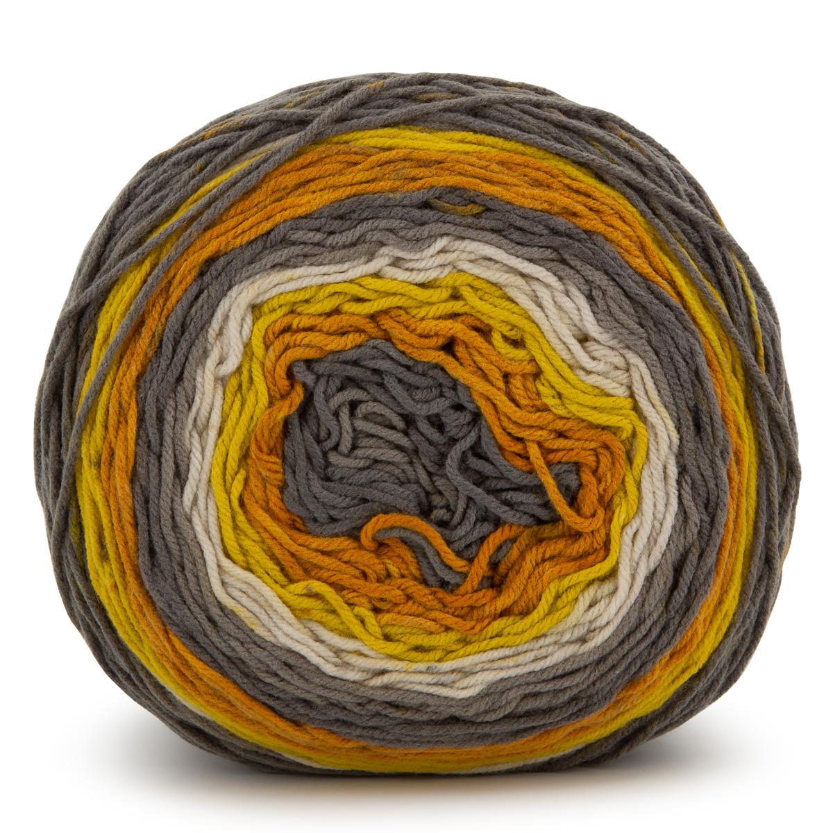 Caron-Big-Cakes-100-Acrylic-Worsted-Striping-Yarn-Medium-4-Cake-Knit-Crochet thumbnail 14