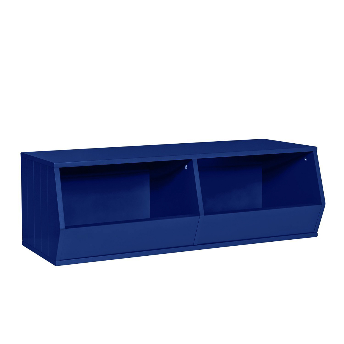 Riverridge 2 Cubby Storage Bins For Stackable Storage