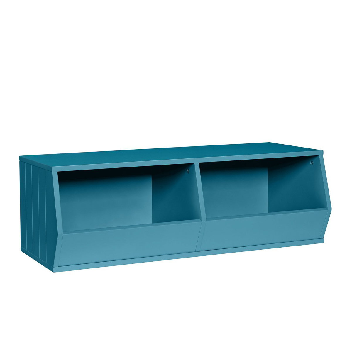 Beau Riverridge 2 Cubby Storage Bins For Stackable Storage