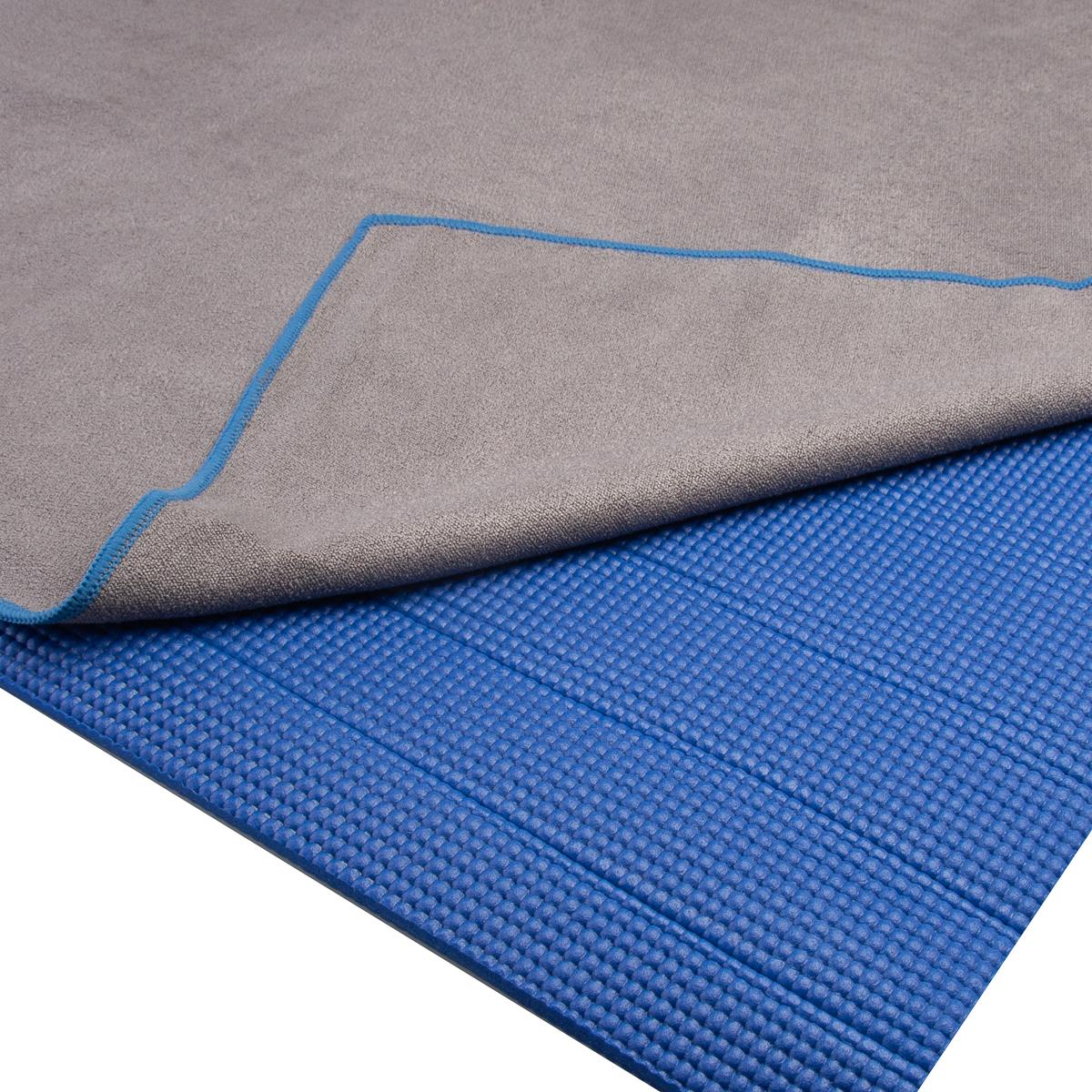 "2pk DG Sports 72x24"" Microfiber Hot Yoga Towel Non Slip Grip For ..."