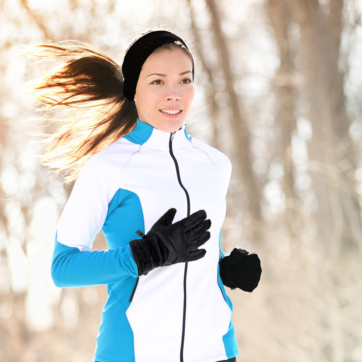 thumbnail 3 - Polar-Extreme-Womens-Touchscreen-Gloves-And-Headband-Set-For-Texting-Smartphone