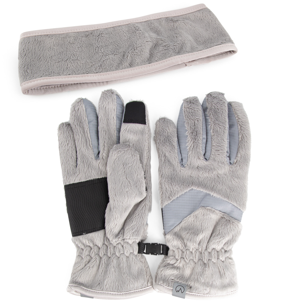 thumbnail 9 - Polar-Extreme-Womens-Touchscreen-Gloves-And-Headband-Set-For-Texting-Smartphone