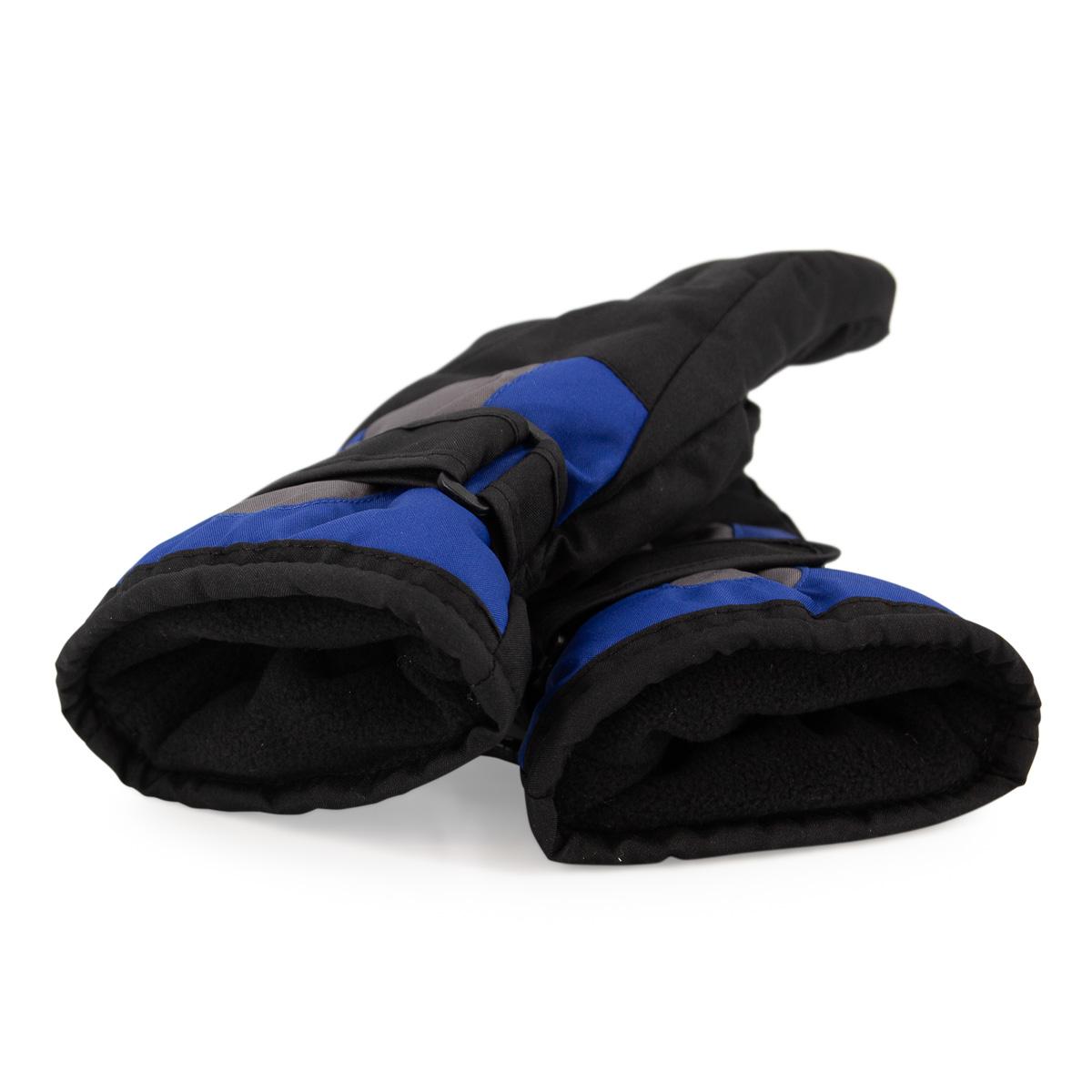 Polar Extreme Boys Ski Gloves Adjustable Insulated Thermal Youth Warm Fleece
