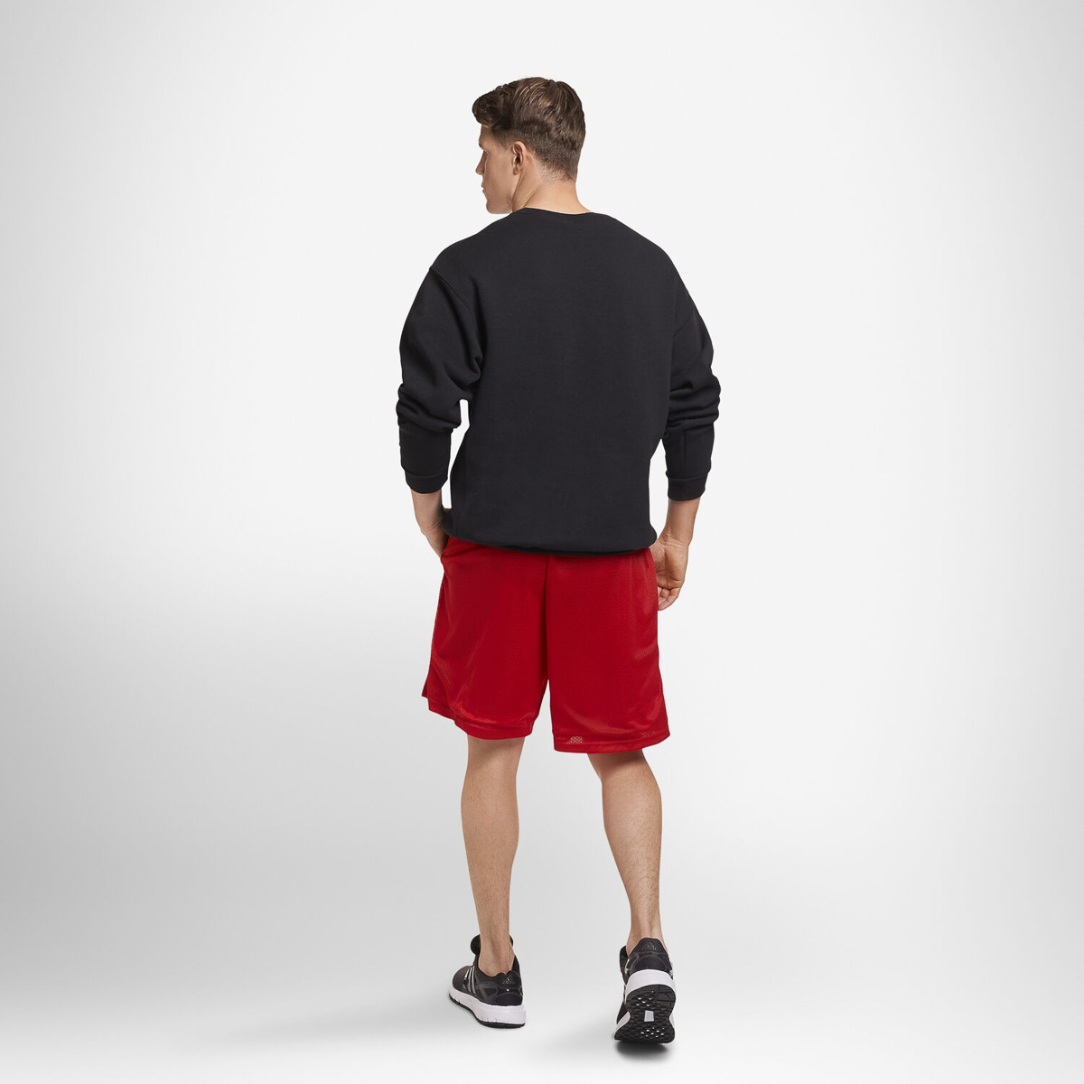 thumbnail 6 - Russell-Athletic-Mens-Shorts-With-Pockets-Mesh-Moisture-Wicking-Gym-Activewear