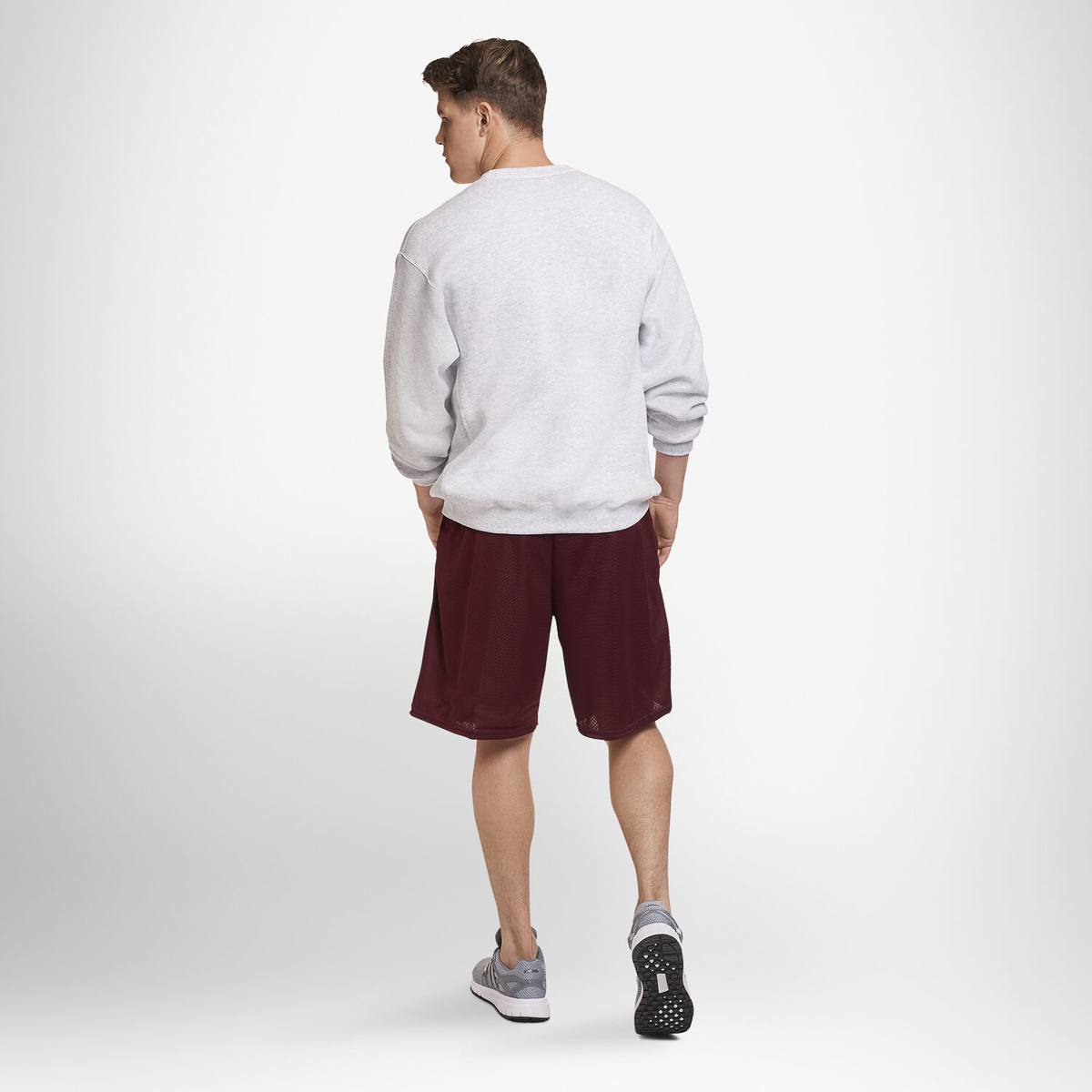 thumbnail 12 - Russell-Athletic-Mens-Shorts-With-Pockets-Mesh-Moisture-Wicking-Gym-Activewear