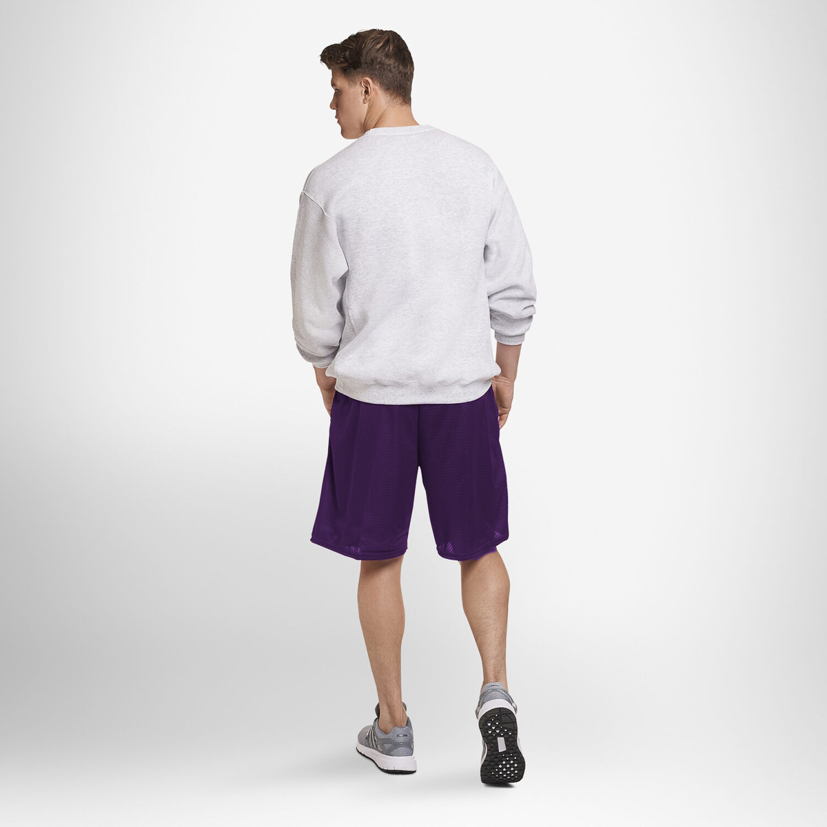Russell-Athletic-Mens-Shorts-With-Pockets-Mesh-Moisture-Wicking-Gym-Activewear thumbnail 18