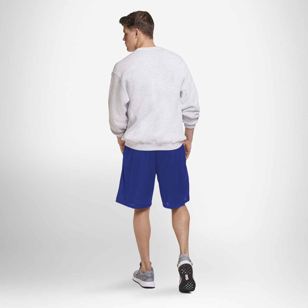 thumbnail 18 - Russell-Athletic-Mens-Shorts-With-Pockets-Mesh-Moisture-Wicking-Gym-Activewear