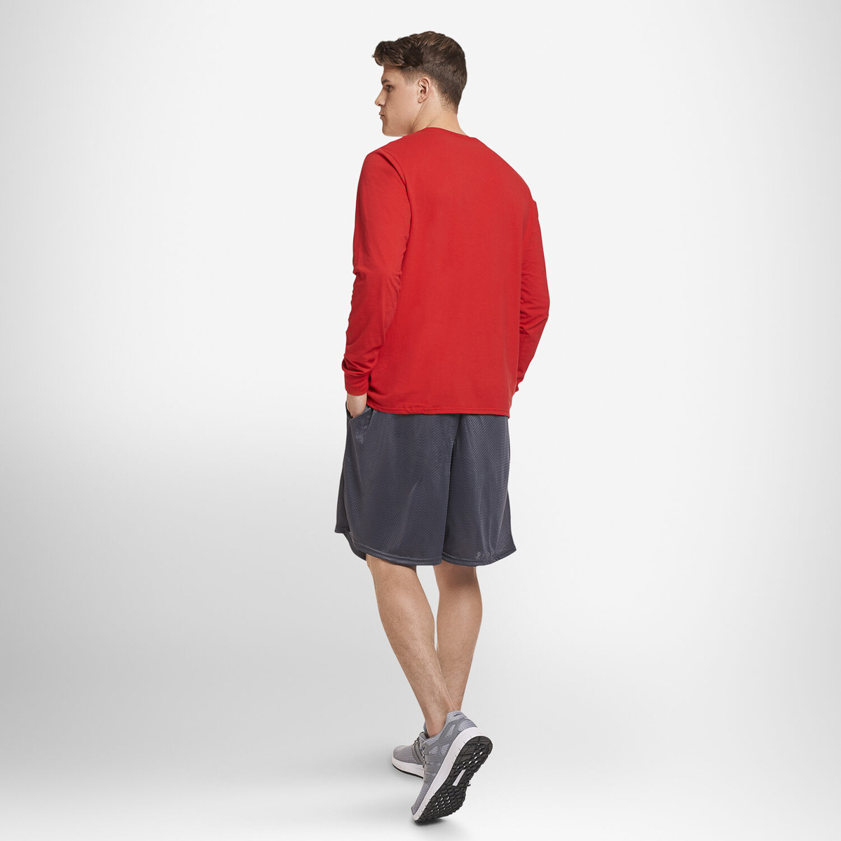 thumbnail 21 - Russell-Athletic-Mens-Shorts-With-Pockets-Mesh-Moisture-Wicking-Gym-Activewear