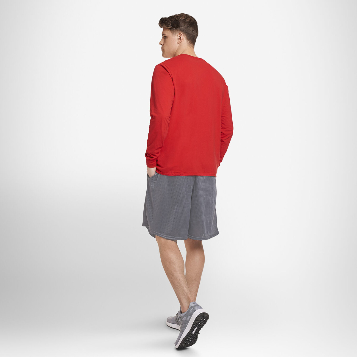 Russell-Athletic-Mens-Shorts-With-Pockets-Mesh-Moisture-Wicking-Gym-Activewear thumbnail 27