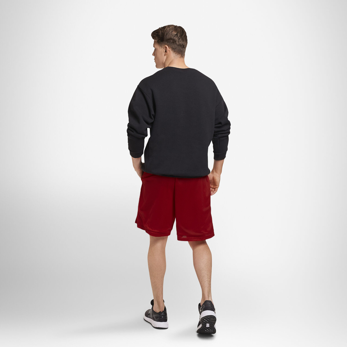 thumbnail 24 - Russell-Athletic-Mens-Shorts-With-Pockets-Mesh-Moisture-Wicking-Gym-Activewear