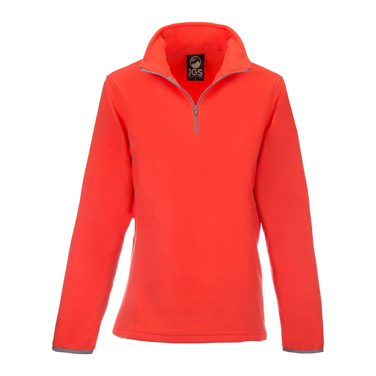 Women's Polar Fleece Half Zip Pullover Lightweight Jacket Winter ...