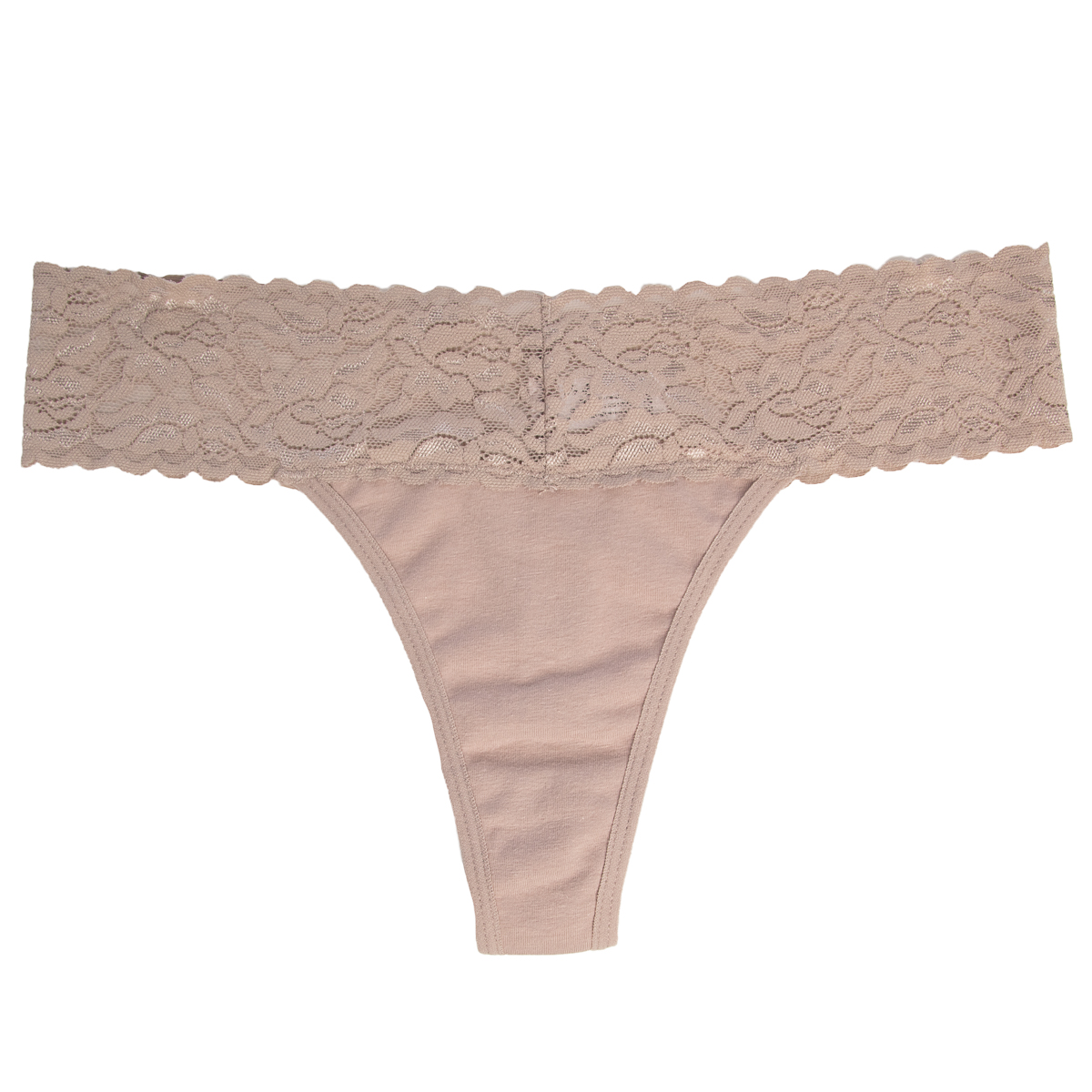 6-Pack-Cotton-Lace-Thong-Underwear-For-Women-Soft-Sexy-Lingerie-Panties-Thongs thumbnail 23