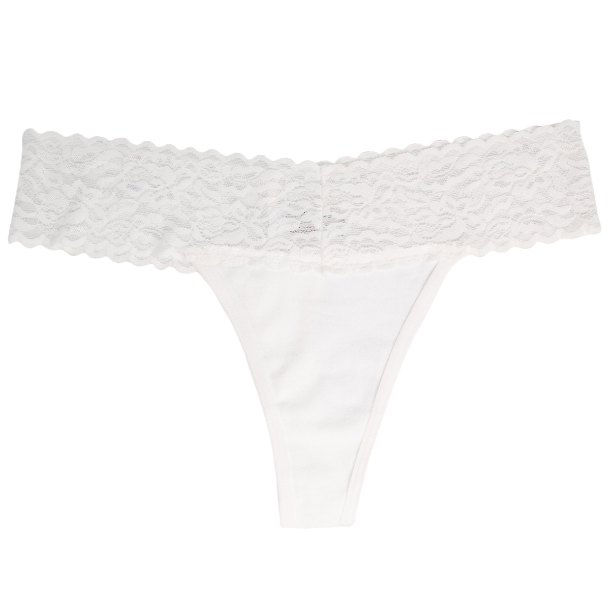 6-Pack-Cotton-Lace-Thong-Underwear-For-Women-Soft-Sexy-Lingerie-Panties-Thongs thumbnail 30
