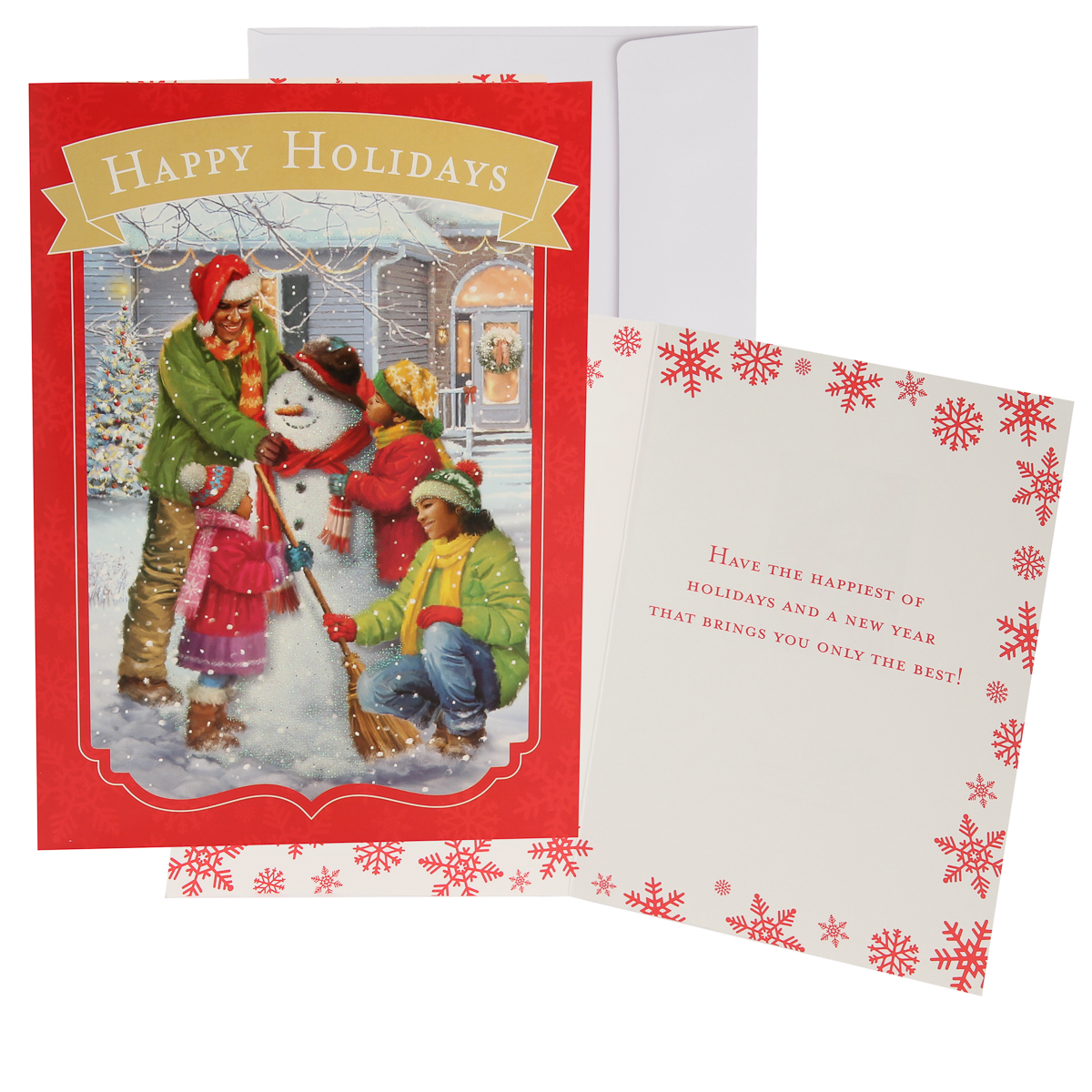 48pk-Merry-Christmas-Cards-Bulk-Assortment-Holiday-Card-Pack-with-Foil-amp-Glitter thumbnail 8