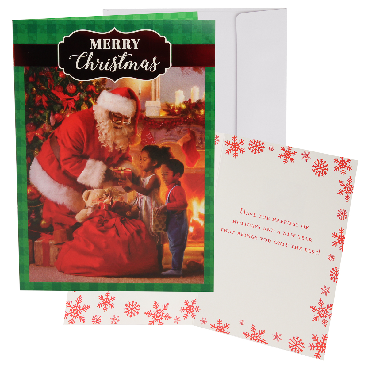 48pk-Merry-Christmas-Cards-Bulk-Assortment-Holiday-Card-Pack-with-Foil-amp-Glitter thumbnail 11