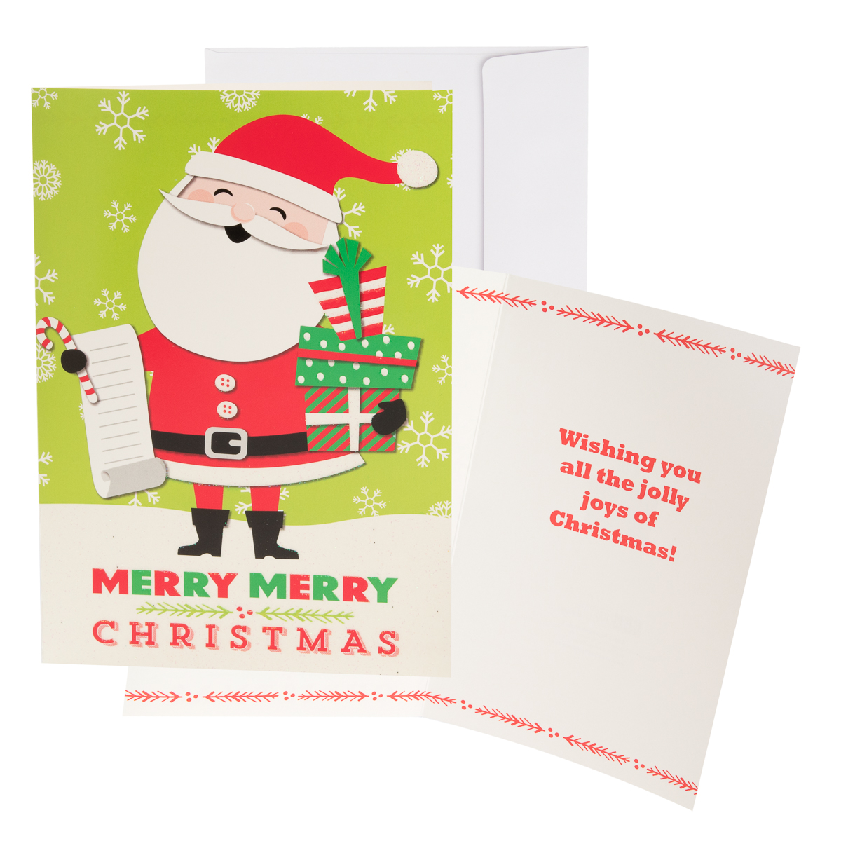48pk-Merry-Christmas-Cards-Bulk-Assortment-Holiday-Card-Pack-with-Foil-amp-Glitter thumbnail 14