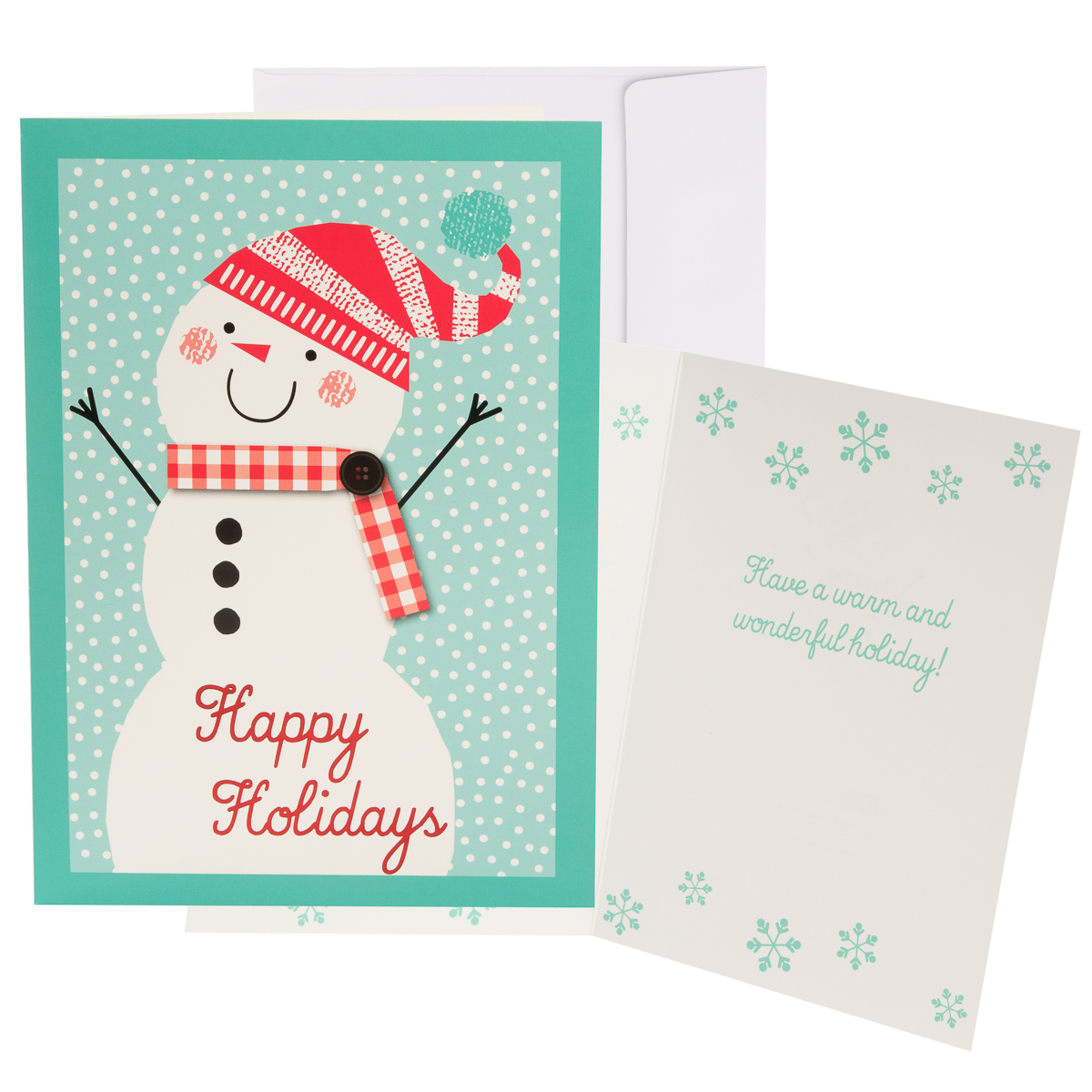 48pk-Merry-Christmas-Cards-Bulk-Assortment-Holiday-Card-Pack-with-Foil-amp-Glitter thumbnail 16