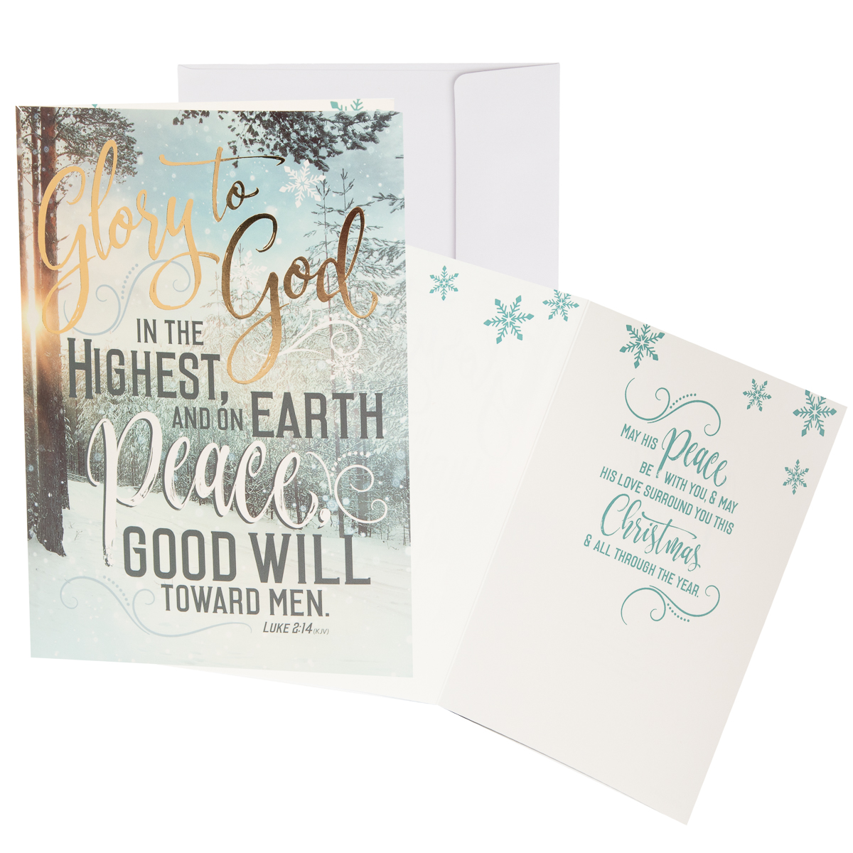 48pk-Merry-Christmas-Cards-Bulk-Assortment-Holiday-Card-Pack-with-Foil-amp-Glitter thumbnail 18