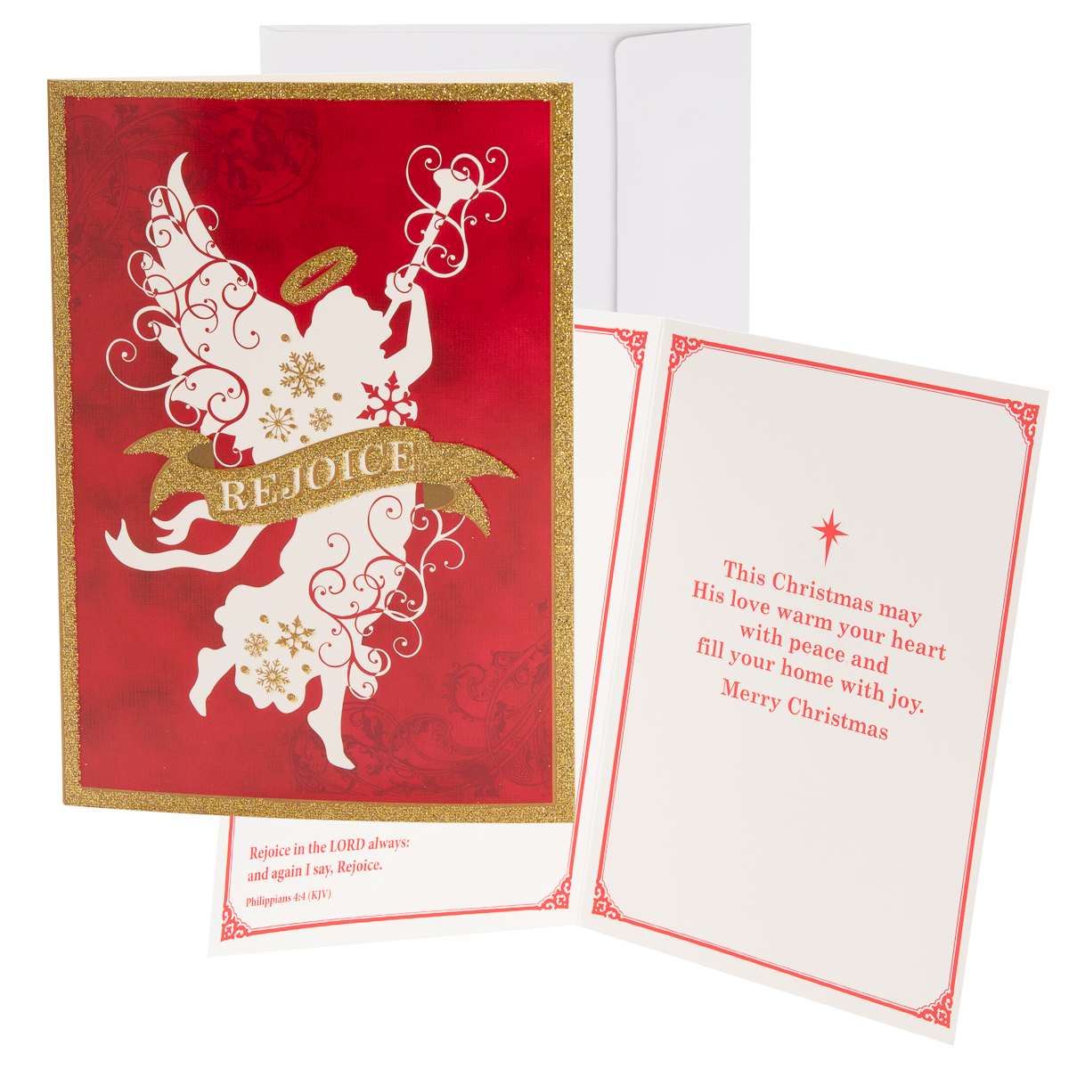48pk-Merry-Christmas-Cards-Bulk-Assortment-Holiday-Card-Pack-with-Foil-amp-Glitter thumbnail 19