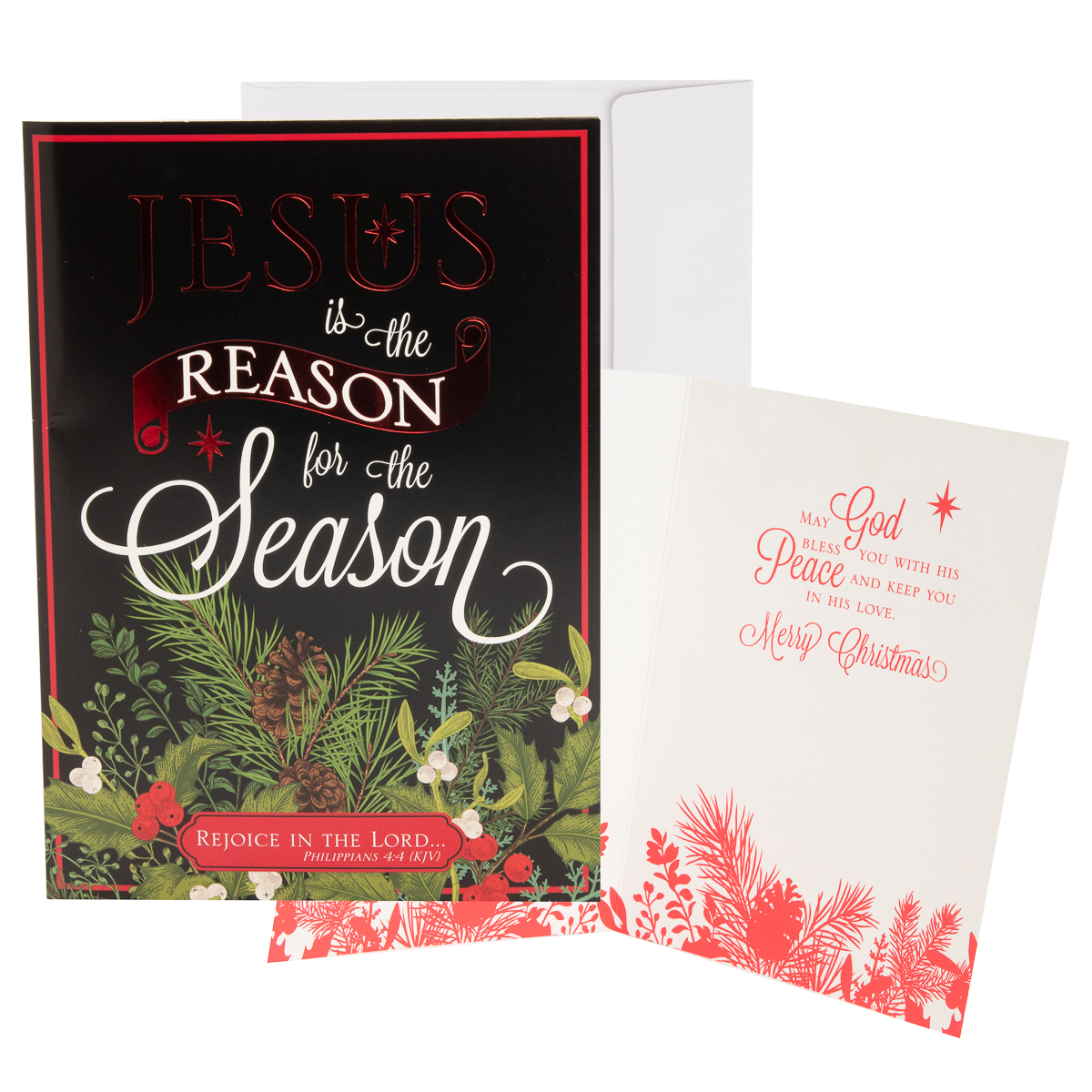 48pk-Merry-Christmas-Cards-Bulk-Assortment-Holiday-Card-Pack-with-Foil-amp-Glitter thumbnail 21